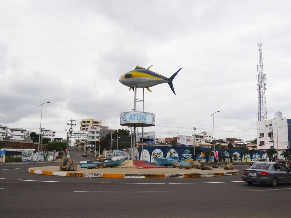 Hotel en Manta Monumento-Atun